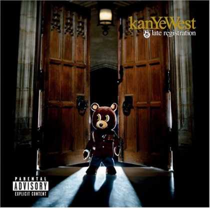 Bestselling Music (2006) - Late Registration by Kanye West