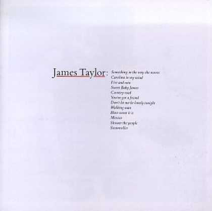 Bestselling Music (2006) - James Taylor: Greatest Hits by James Taylor