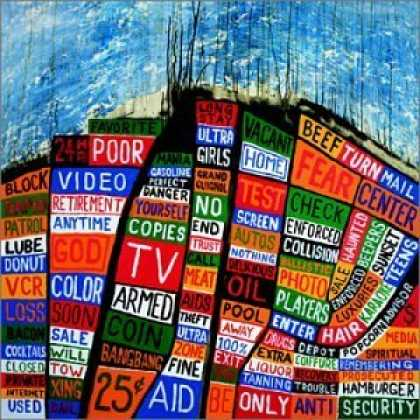 Bestselling Music (2006) - Hail To The Thief by Radiohead
