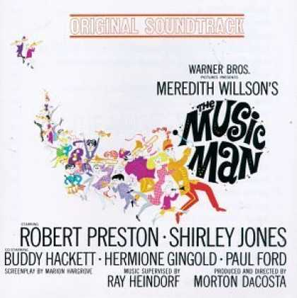 Bestselling Music (2006) - The Music Man (1962 Film Soundtrack) by Meredith Willson