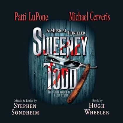 Bestselling Music (2006) - Sweeney Todd (2005 Broadway Revival Cast) by Stephen Sondheim