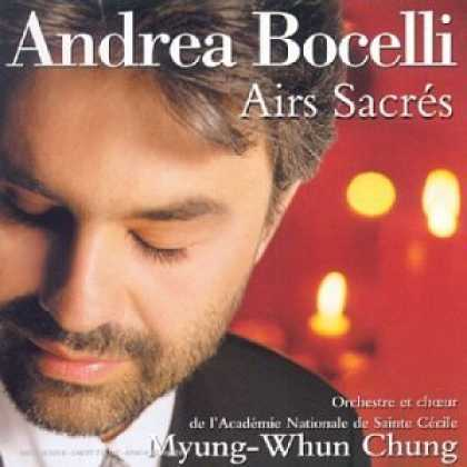 Bestselling Music (2006) - Andrea Bocelli - Sacred Arias / Myung-Whun Chung by George Frideric Handel