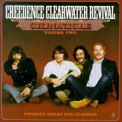 Bestselling Music (2006) - Chronicle Vol. 2: Twenty Great CCR Classics by Creedence Clearwater Revival