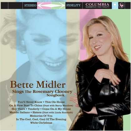 Bestselling Music (2006) - Bette Midler Sings The Rosemary Clooney Songbook by Bette Midler