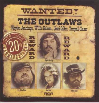 Bestselling Music (2006) - Wanted! The Outlaws by Waylon Jennings