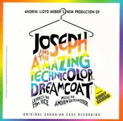 Bestselling Music (2006) - Joseph And The Amazing Technicolor Dreamcoat (1992 Canadian Cast) by Tim Rice