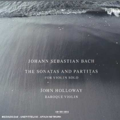 Bestselling Music (2006) - Bach: The Sonatas & Partitas for Violin Solo /Holloway by Johann Sebastian Bach