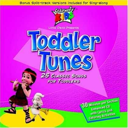 Bestselling Music (2006) - Toddler Tunes by Cedarmont Kids