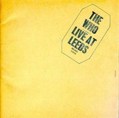 Bestselling Music (2006) - Live at Leeds by The Who