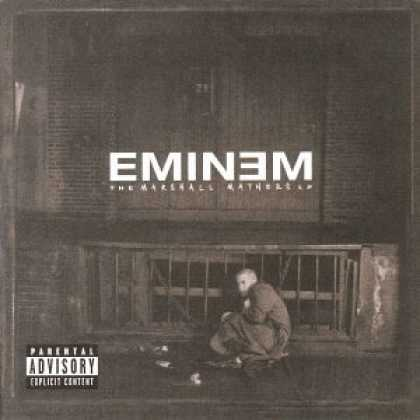 Bestselling Music (2006) - The Marshall Mathers LP by Eminem