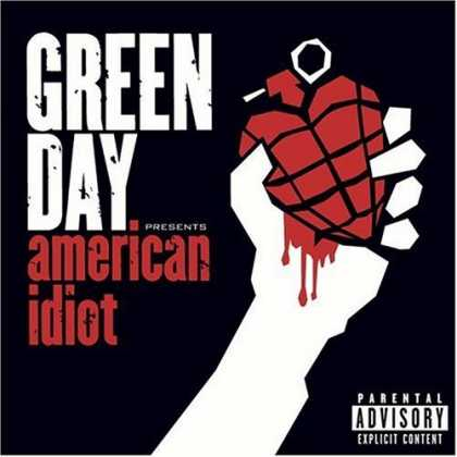 Bestselling Music (2006) - American Idiot by Green Day