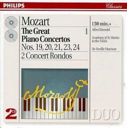 Bestselling Music (2006) - Mozart: The Great Piano Concertos, Vol. 1