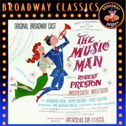 Bestselling Music (2006) - The Music Man (1957 Original Broadway Cast) (Angel Reissue) by Meredith Willson