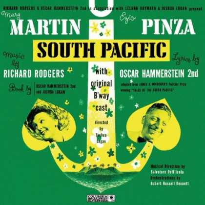 Bestselling Music (2006) - South Pacific (Original 1949 Broadway Cast) by Richard Rodgers