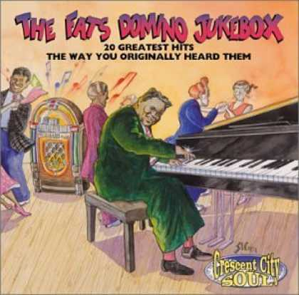 Bestselling Music (2006) - Fats Domino Jukebox: 20 Greatest Hits the Way You Originally Heard Them by Fats