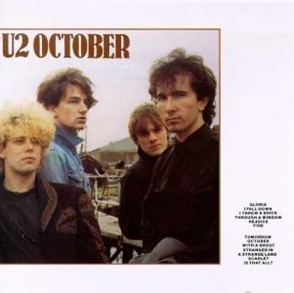 Bestselling Music (2006) - October by U2