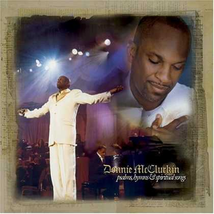 Bestselling Music (2006) - Psalms, Hymns and Spiritual Songs by Donnie McClurkin