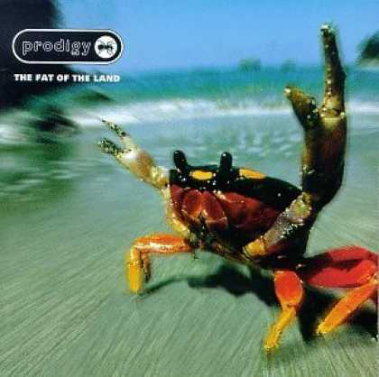 Bestselling Music (2006) - The Fat of the Land by The Prodigy