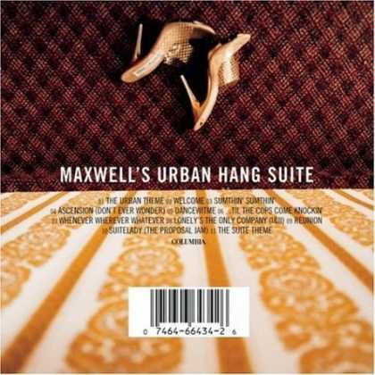 Bestselling Music (2006) - Maxwell's Urban Hang Suite by Maxwell