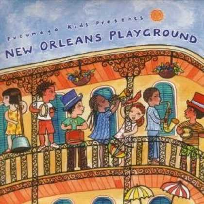 Bestselling Music (2006) - New Orleans Playground by Various Artists