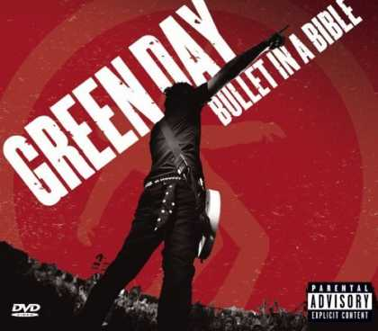 Bestselling Music (2006) - Bullet In A Bible (CD/DVD, Jewel Case) by Green Day