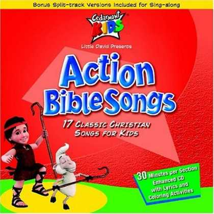 Bestselling Music (2006) - Action Bible Songs by Cedarmont Kids