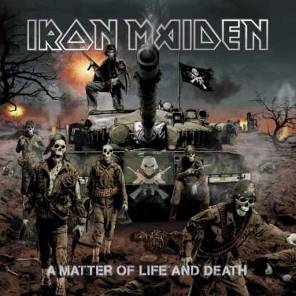 Bestselling Music (2006) - A Matter of Life and Death by Iron Maiden