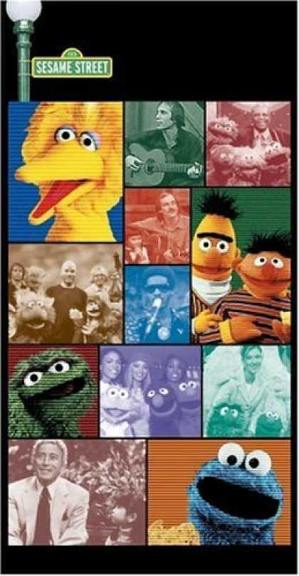 Bestselling Music (2006) - Songs from the Street: 35 Years of Music by Sesame Street