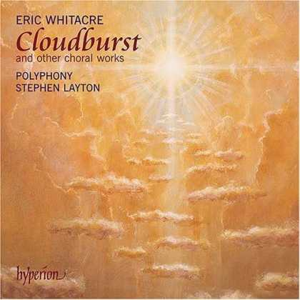 Bestselling Music (2006) - Eric Whitacre: Cloudburst and other choral works by Eric Whitacre