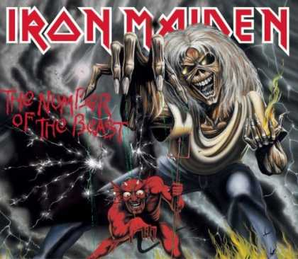 Bestselling Music (2006) - The Number of the Beast by Iron Maiden