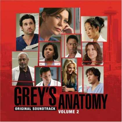 Bestselling Music (2006) - Grey's Anatomy, Vol. 2 by Original Soundtrack
