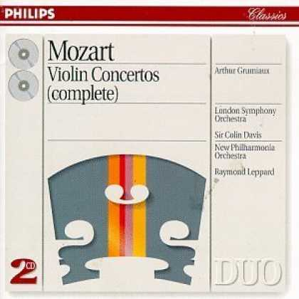 Bestselling Music (2006) - Mozart: Violin Concertos by Wolfgang Amadeus Mozart