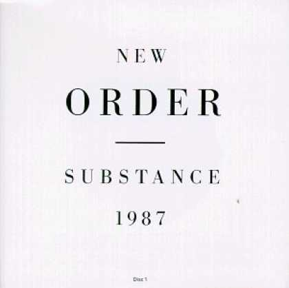 Bestselling Music (2006) - Substance by New Order