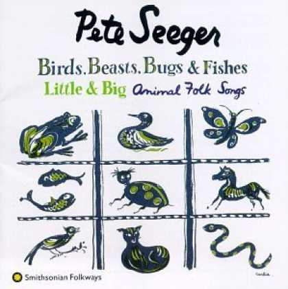 Bestselling Music (2006) - Birds, Beasts, Bugs & Fishes Little & Big: Animal Folk Songs by Pete Seeger