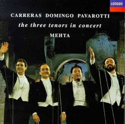 Bestselling Music (2006) - Carreras · Domingo · Pavarotti ~ the three tenors in concert / M