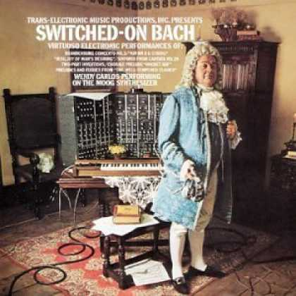 Bestselling Music (2006) - Switched-On Bach by Johann Sebastian Bach
