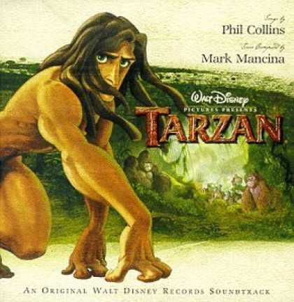 Bestselling Music (2006) - Tarzan: An Original Walt Disney Records Soundtrack by Mark Mancina