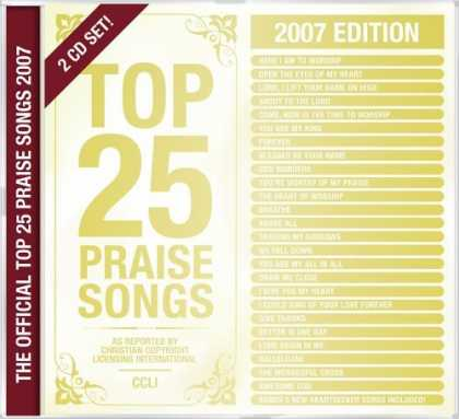 Bestselling Music (2006) - Top 25 Praise & Worship Songs 2007 by Various Artists