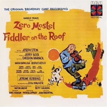 Bestselling Music (2006) - Fiddler on the Roof (1964 Original Broadway Cast) by Jerry Bock