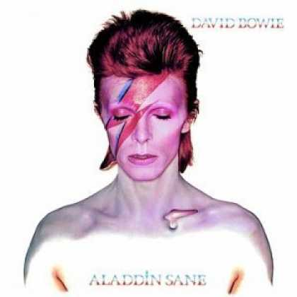 Bestselling Music (2006) - Aladdin Sane by David Bowie