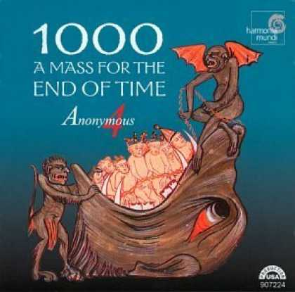 Bestselling Music (2006) - 1000 - A Mass for the End of Time / Anonymous 4 by Gregorian Chant