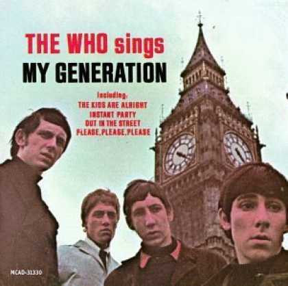Bestselling Music (2006) - The Who Sings My Generation by The Who