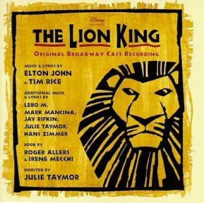 Bestselling Music (2006) - The Lion King (1997 Original Broadway Cast) by Elton John