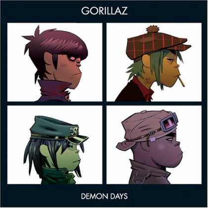 Bestselling Music (2006) - Demon Days by Gorillaz