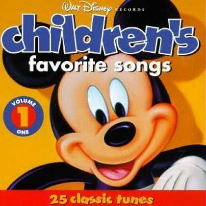 Bestselling Music (2006) - Walt Disney Records : Children's Favorite Songs, Vol. 1 : 25 Classic Tunes by Di