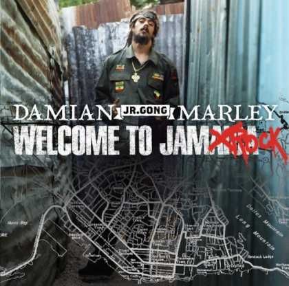 "Bestselling Music (2006) - Welcome to Jamrock by Damian ""Jr. Gong"" Marley"