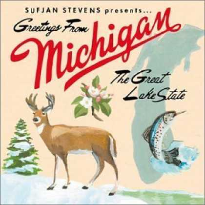 Bestselling Music (2006) - Greetings From Michigan: The Great Lake State by Sufjan Stevens
