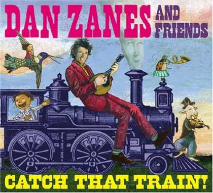 Bestselling Music (2006) - Catch That Train! by Dan Zanes & Friends