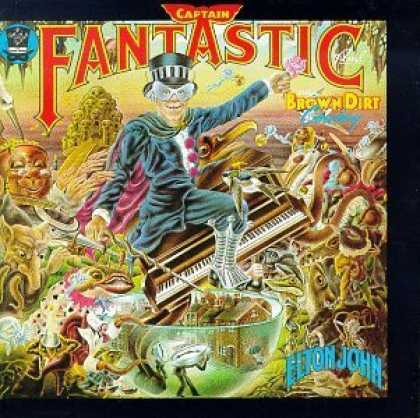 Bestselling Music (2006) - Captain Fantastic and the Brown Dirt Cowboy by Elton John