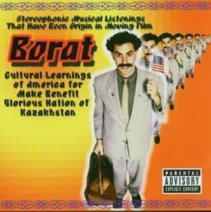 Bestselling Music (2006) - Borat by Original Soundtrack